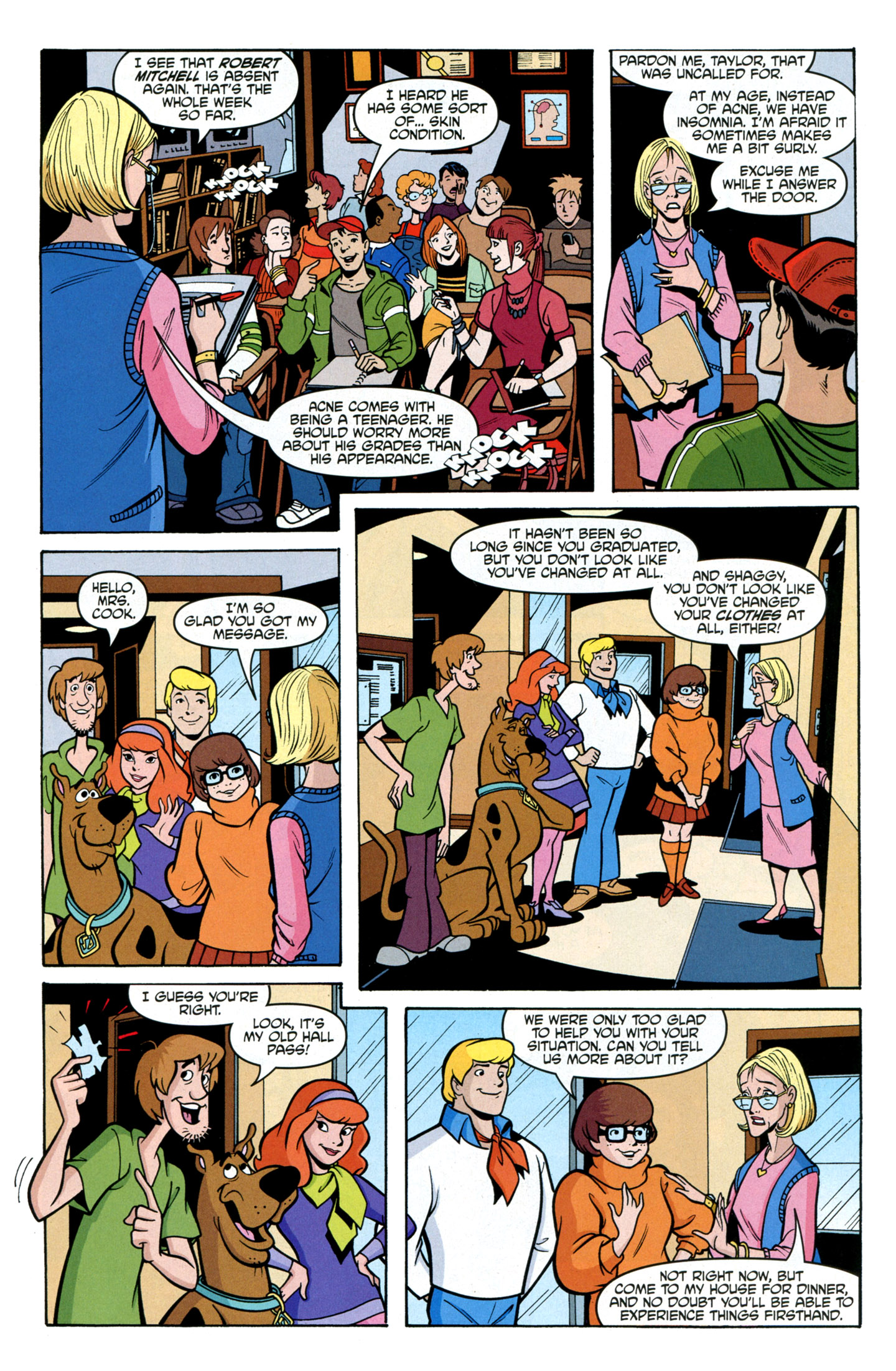 Read online Scooby-Doo: Where Are You? comic -  Issue #24 - 21