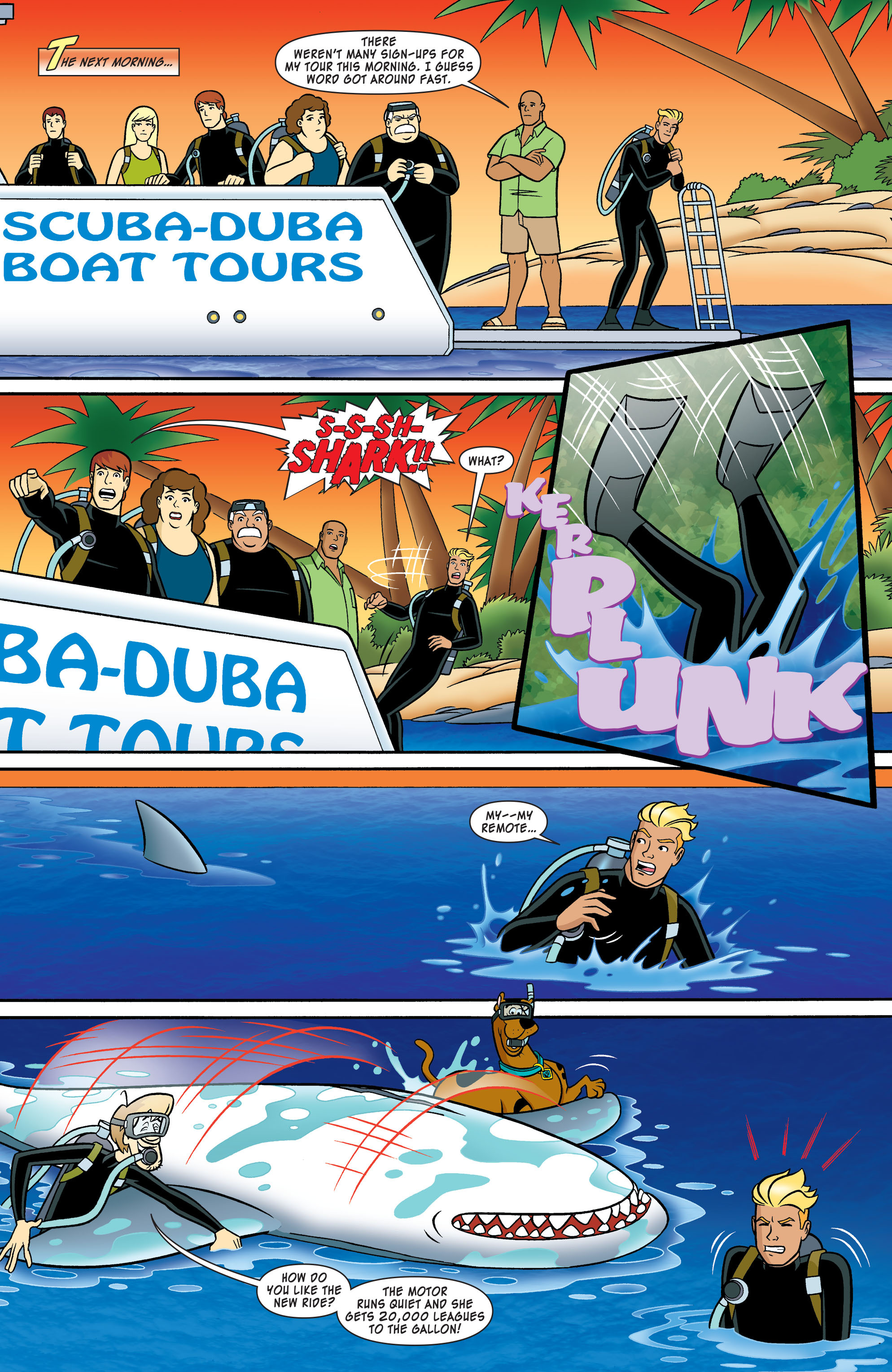 Read online Scooby-Doo: Where Are You? comic -  Issue #54 - 10