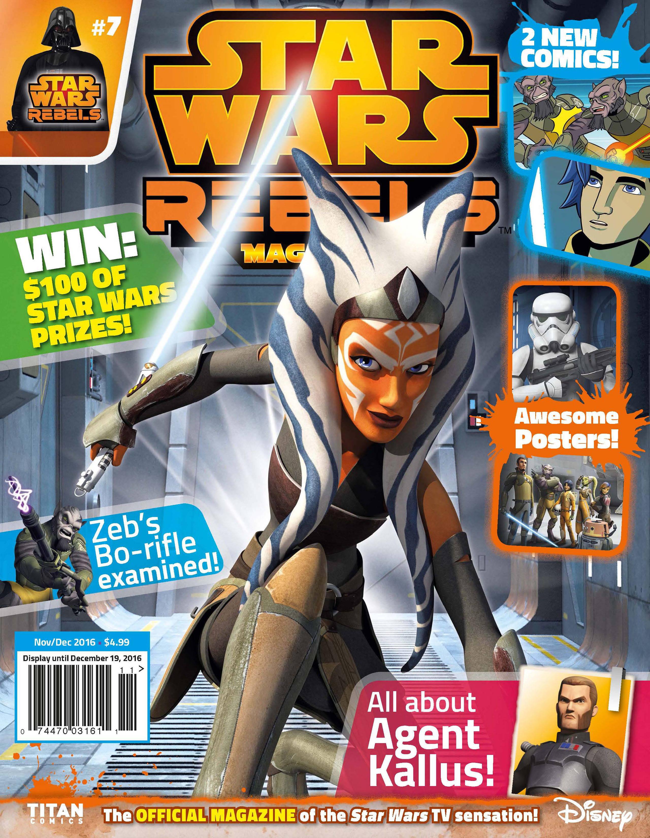 Star Wars Rebels Magazine 7 Read Star Wars Rebels Magazine Issue
