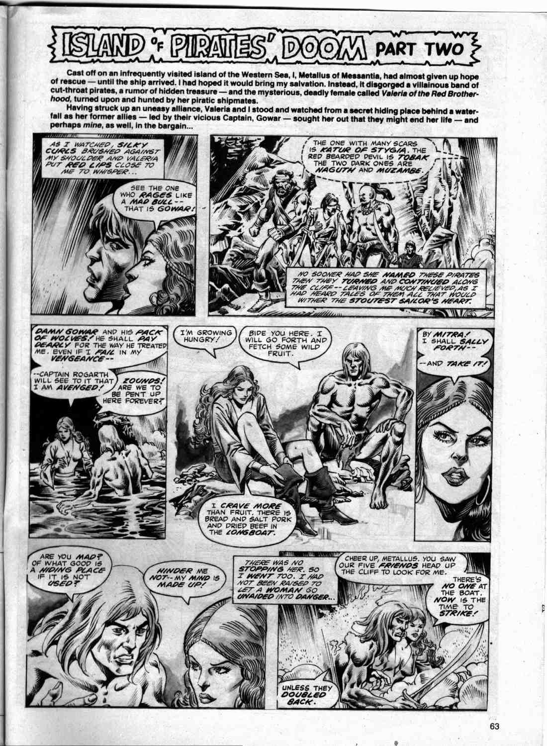 The Savage Sword Of Conan Issue #74 #75 - English 60