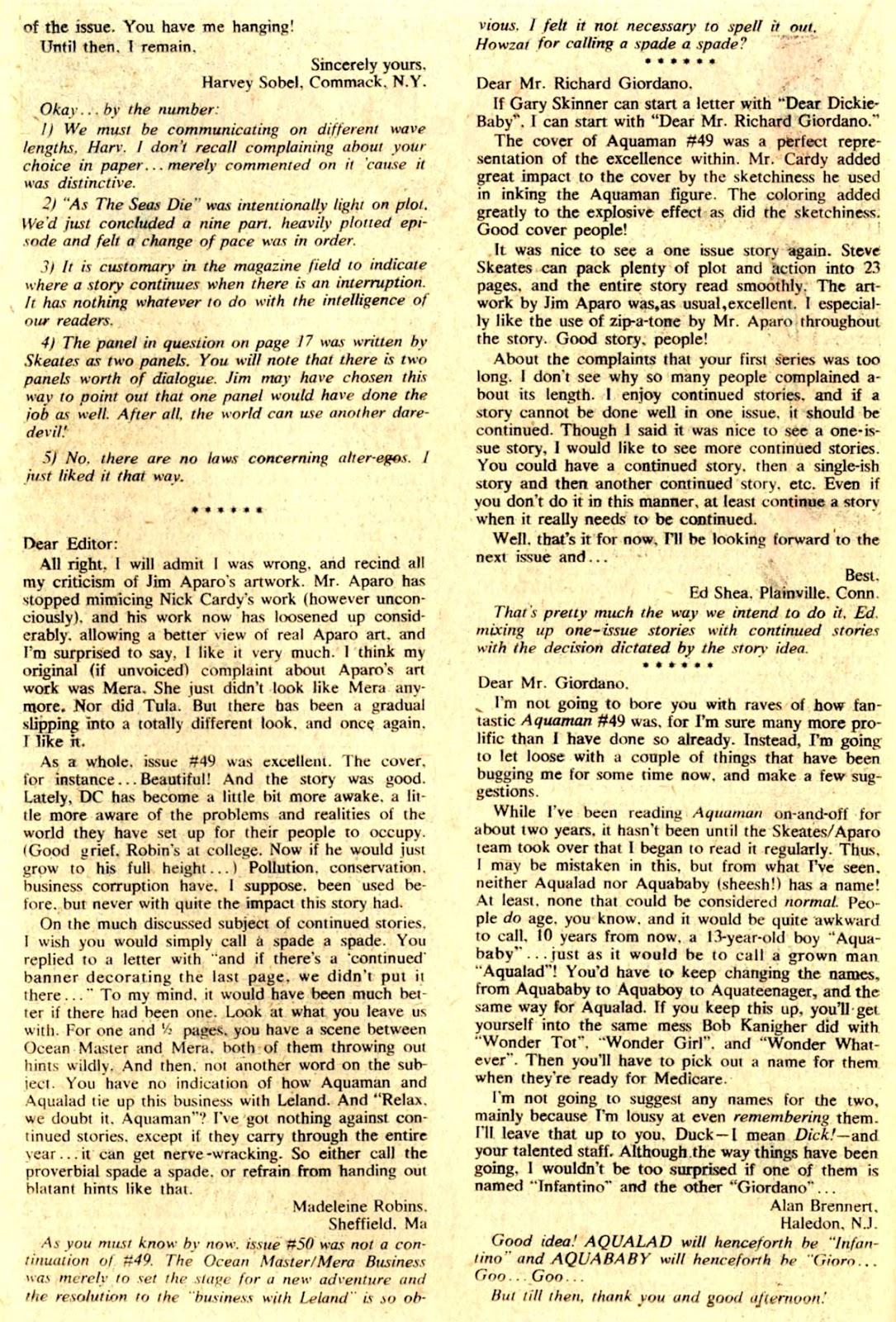 Aquaman (1962) Issue #51 #51 - English 22