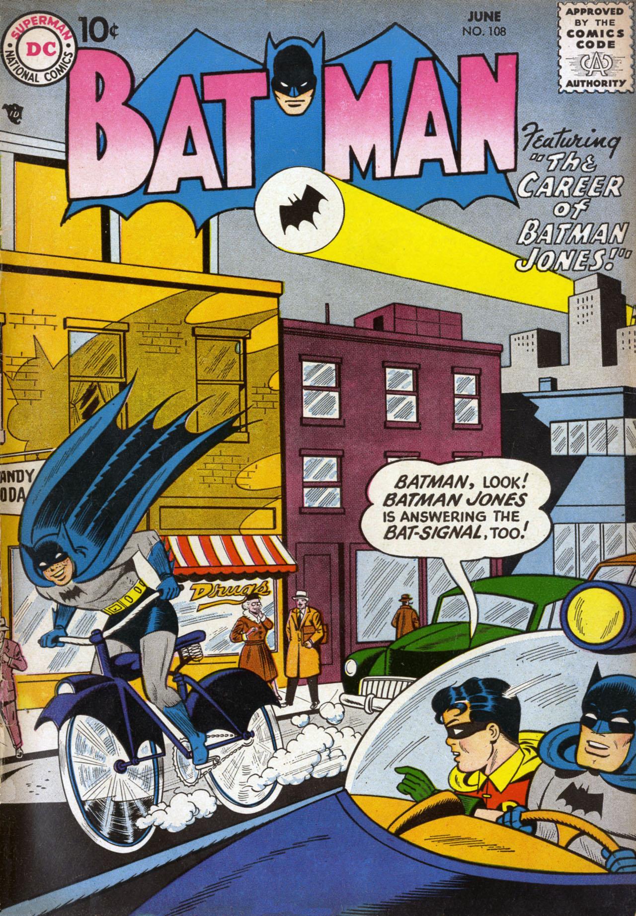 Batman (1940) 108 Page 1