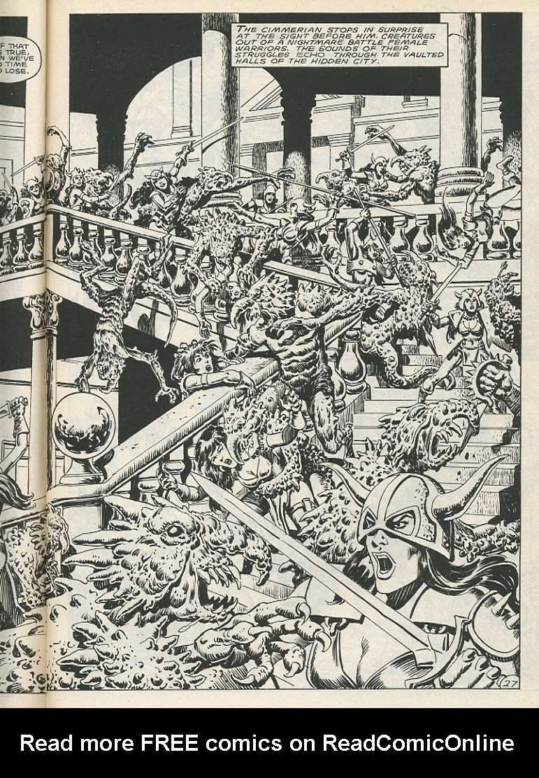 The Savage Sword Of Conan Issue #141 #142 - English 33