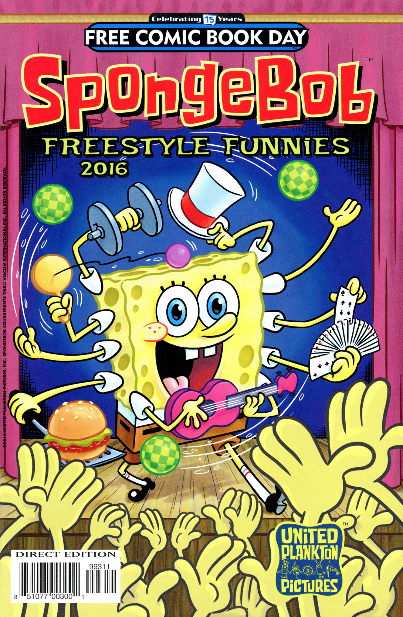 free comic book day 2016 spongebob freestyle funnies read free