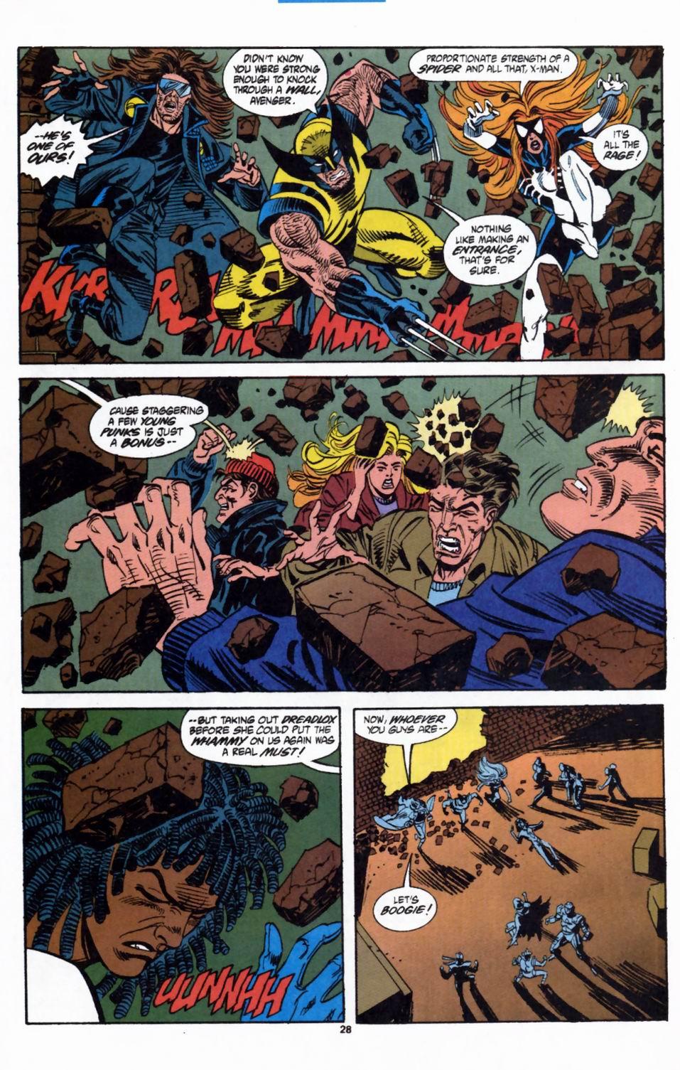 Read online Secret Defenders comic -  Issue #2 - 21
