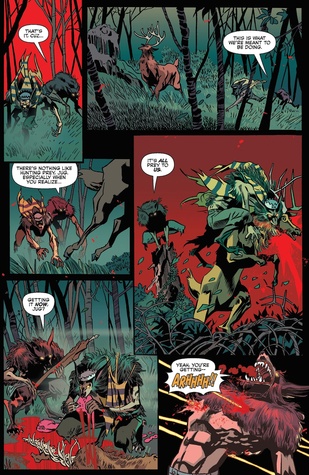 Jughead The Hunger Issue #3 #4 - English 12