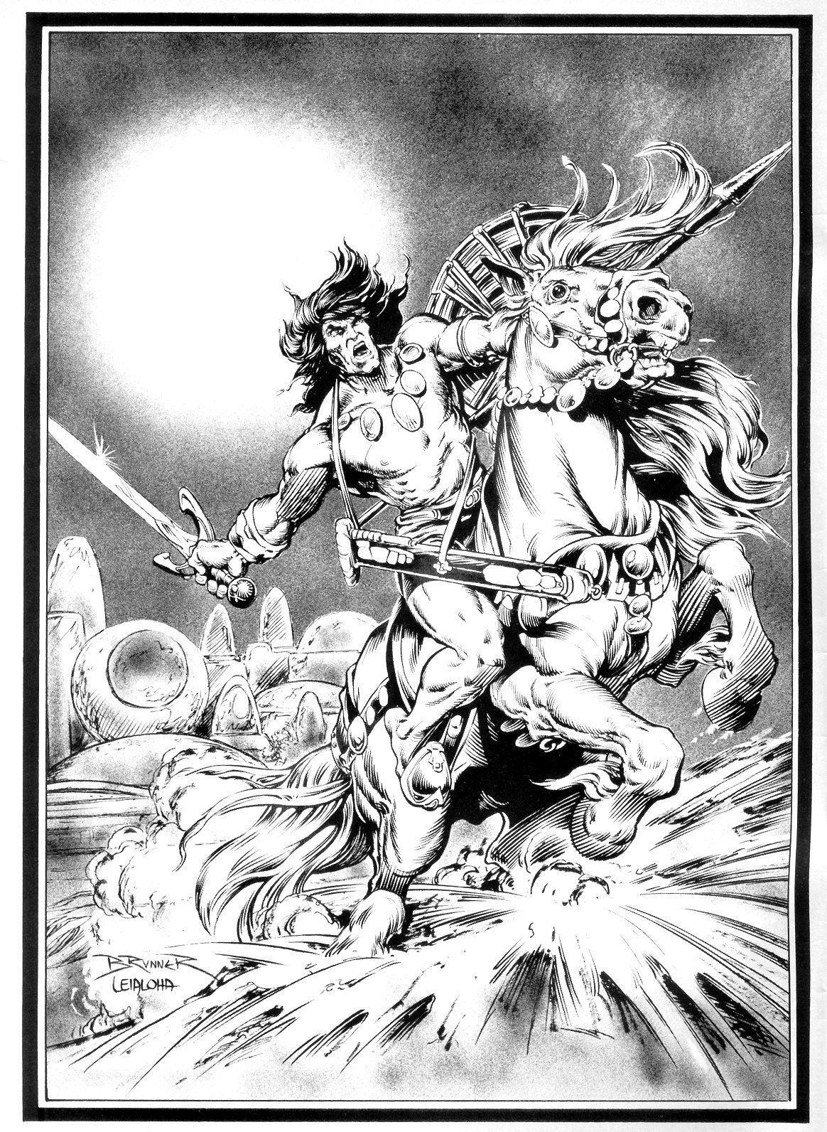 The Savage Sword Of Conan Issue #14 #15 - English 2