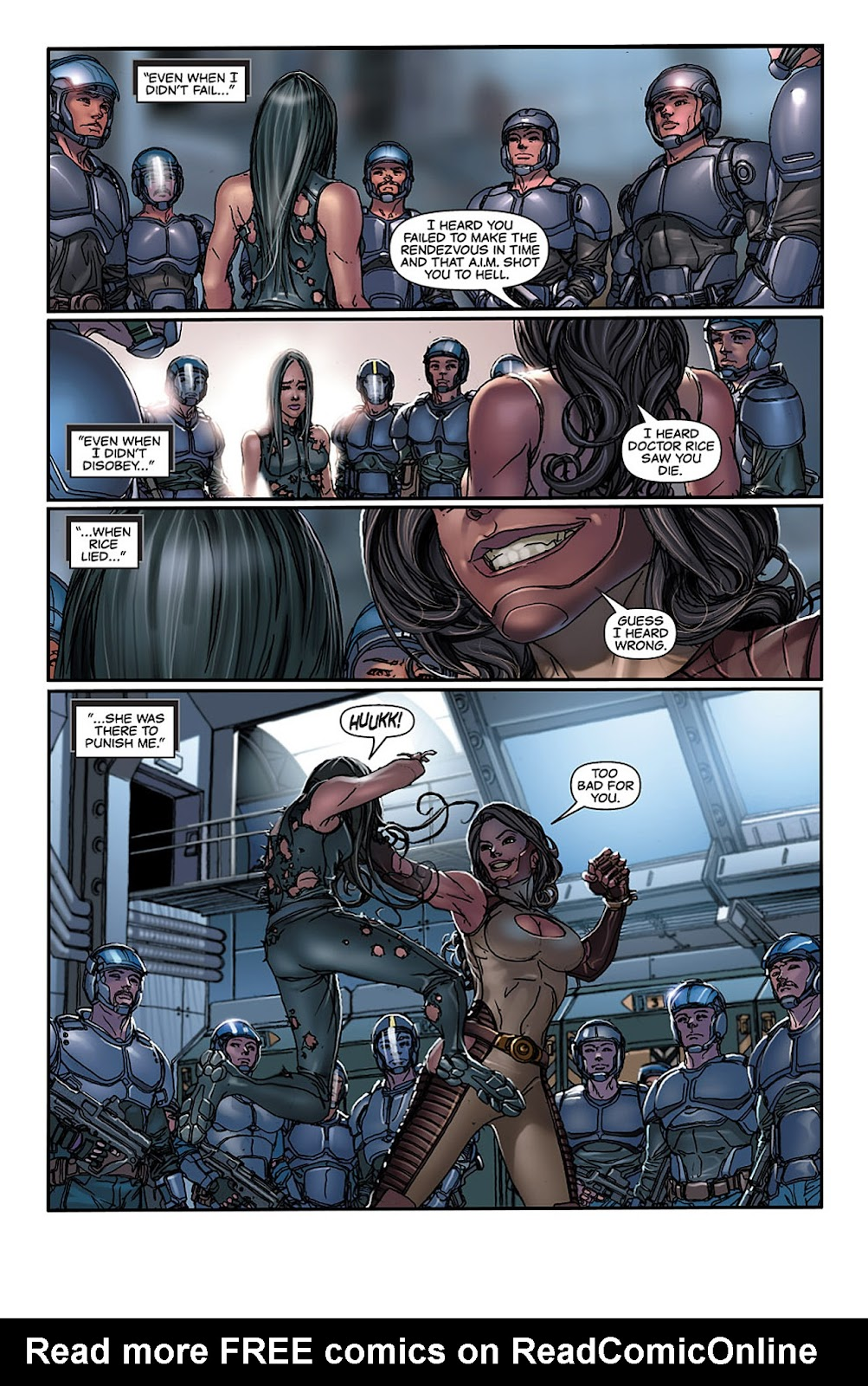 X-23: Target X Issue #4 #4 - English 15