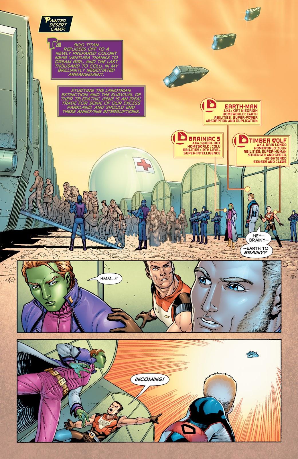 Legion of Super-Heroes (2010) Issue #6 #7 - English 8