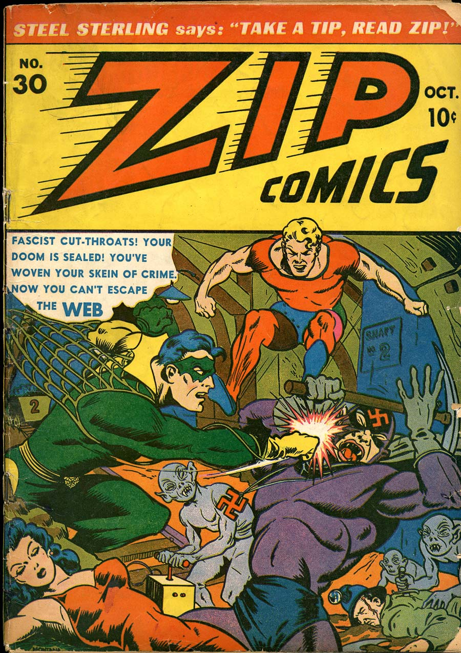 Zip Comics 30 Page 1