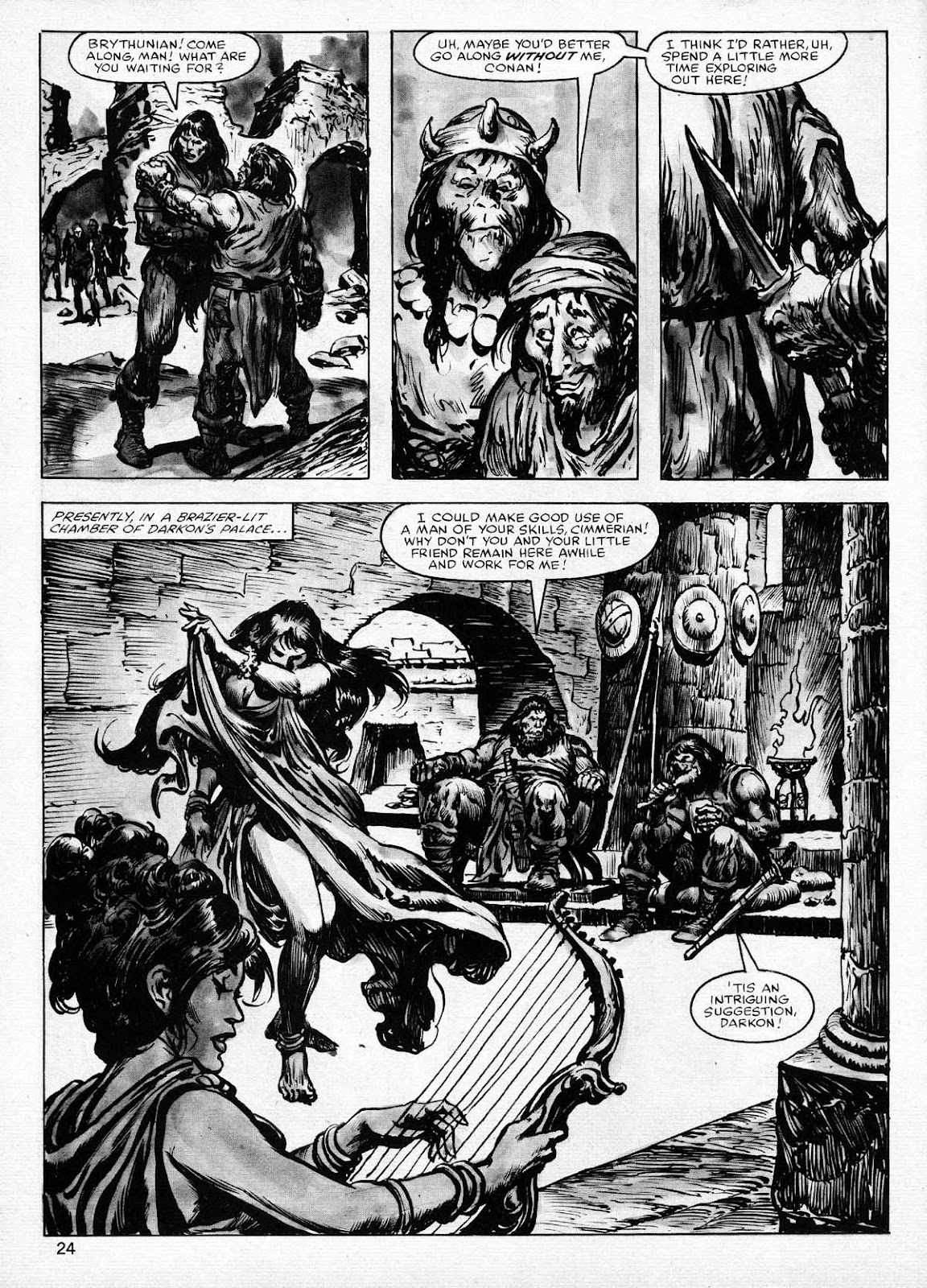 The Savage Sword Of Conan Issue #77 #78 - English 24