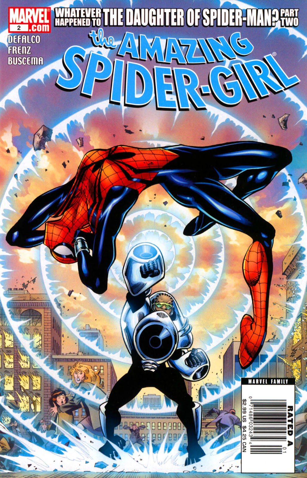Amazing Spider-Girl Issue #2 #3 - English 1