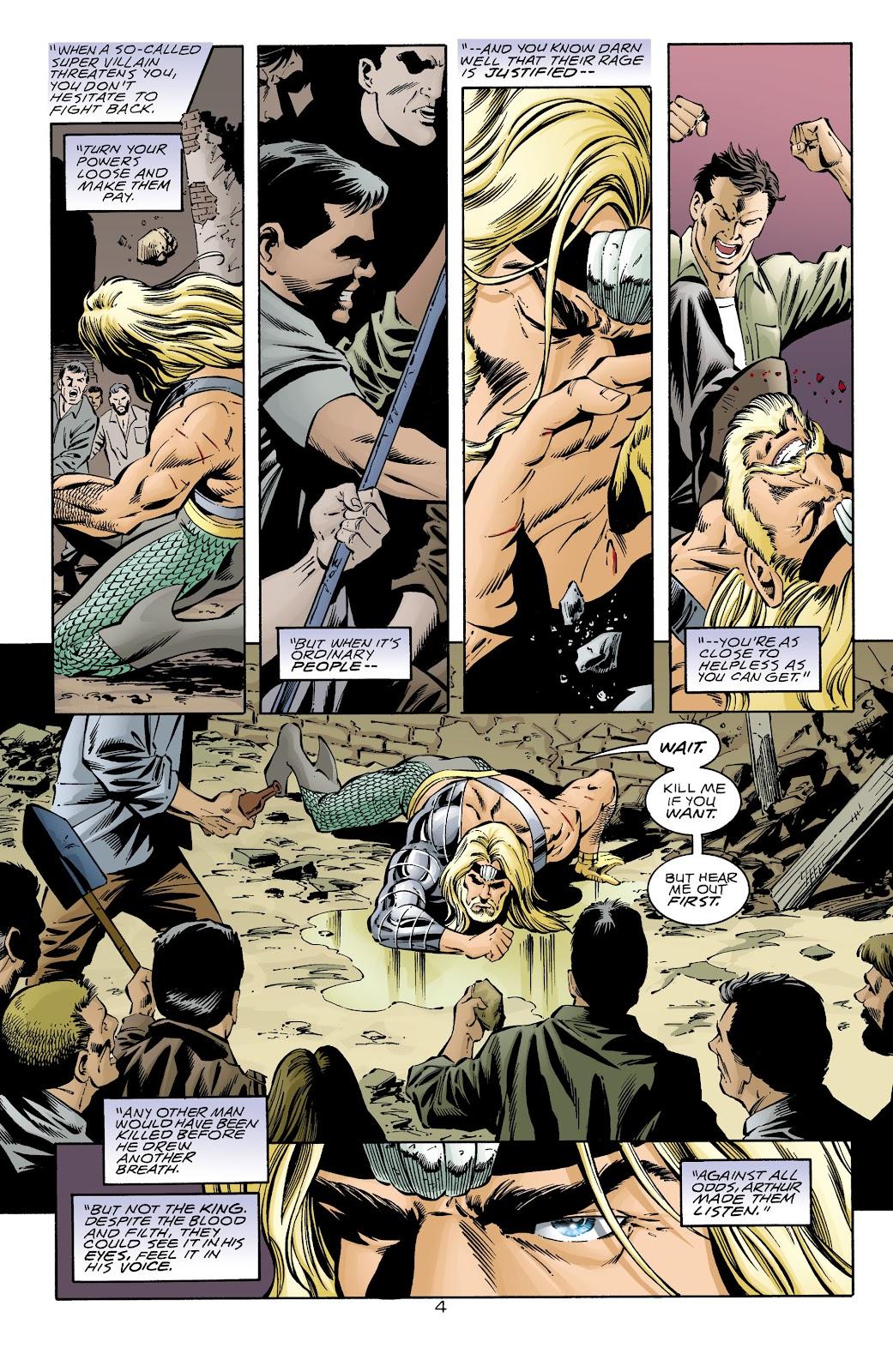Aquaman (1994) Issue #68 #74 - English 5