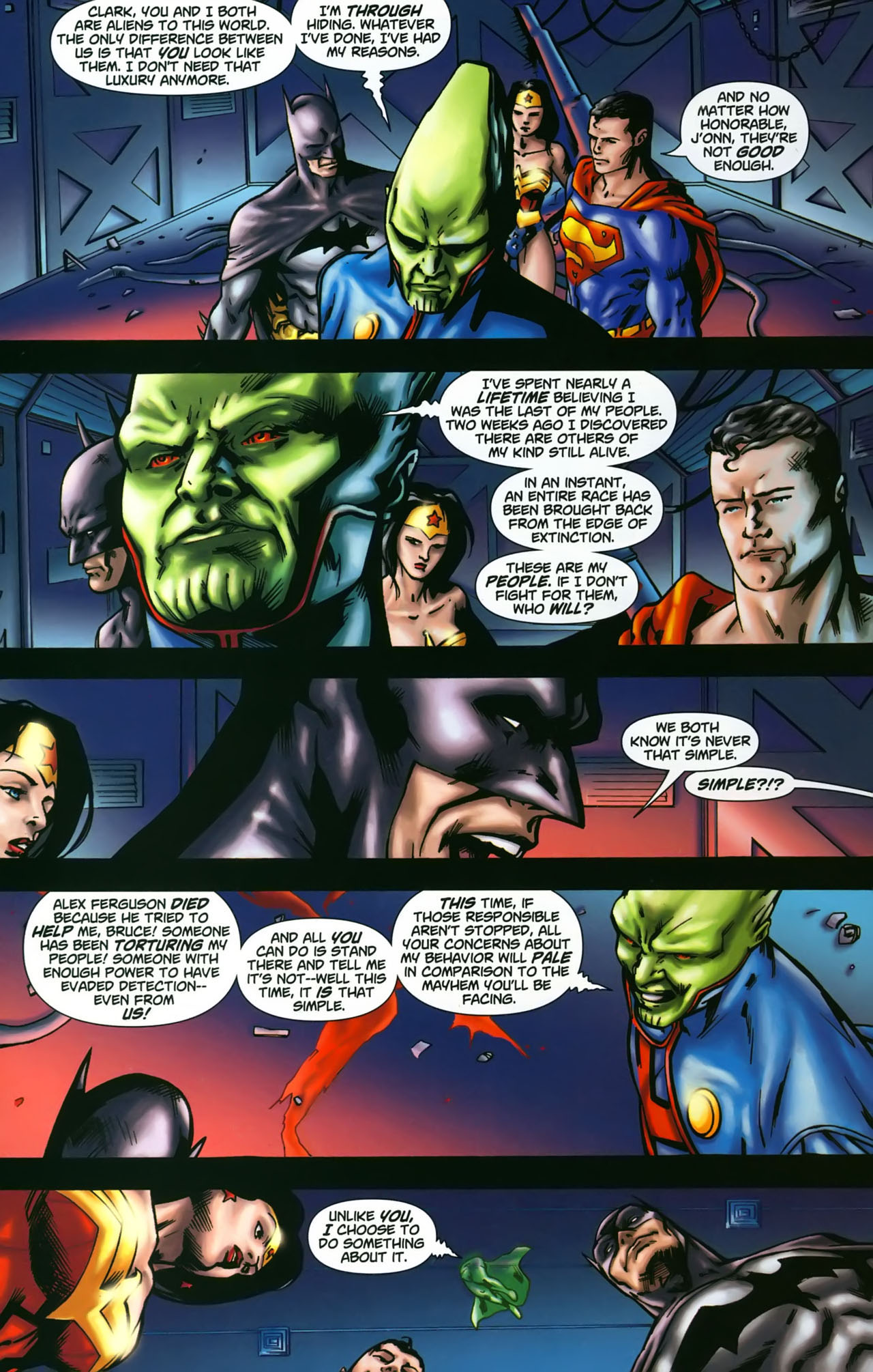Read online Martian Manhunter (2006) comic -  Issue #3 - 22