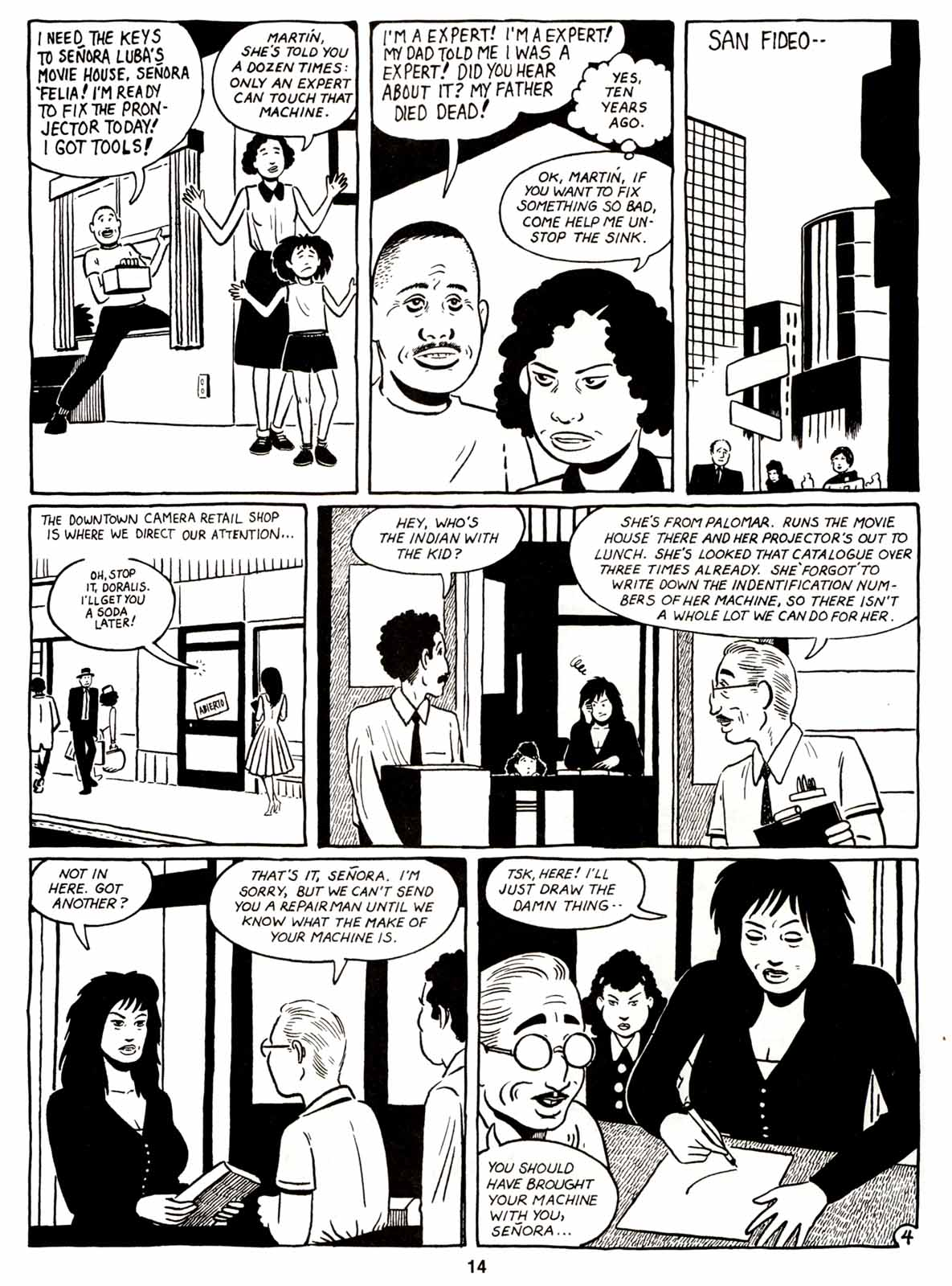 Love and Rockets (1982) Issue #7 #6 - English 16