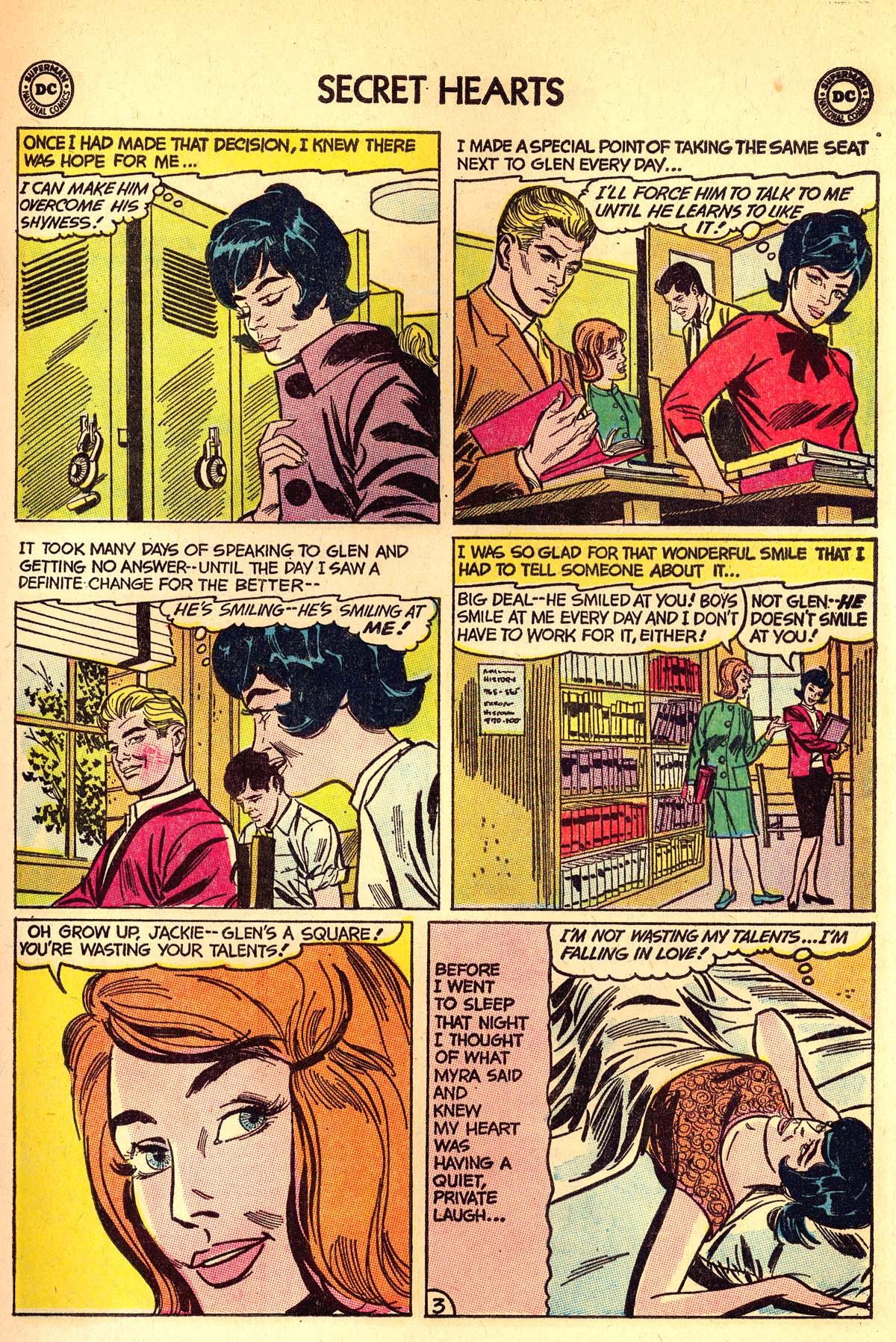 Read online Secret Hearts comic -  Issue #89 - 13