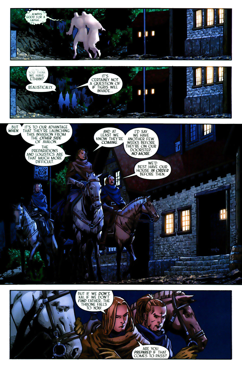 Read online Scion comic -  Issue #38 - 9