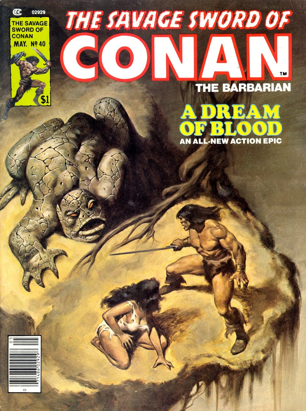 The Savage Sword Of Conan Issue #40 #41 - English 1