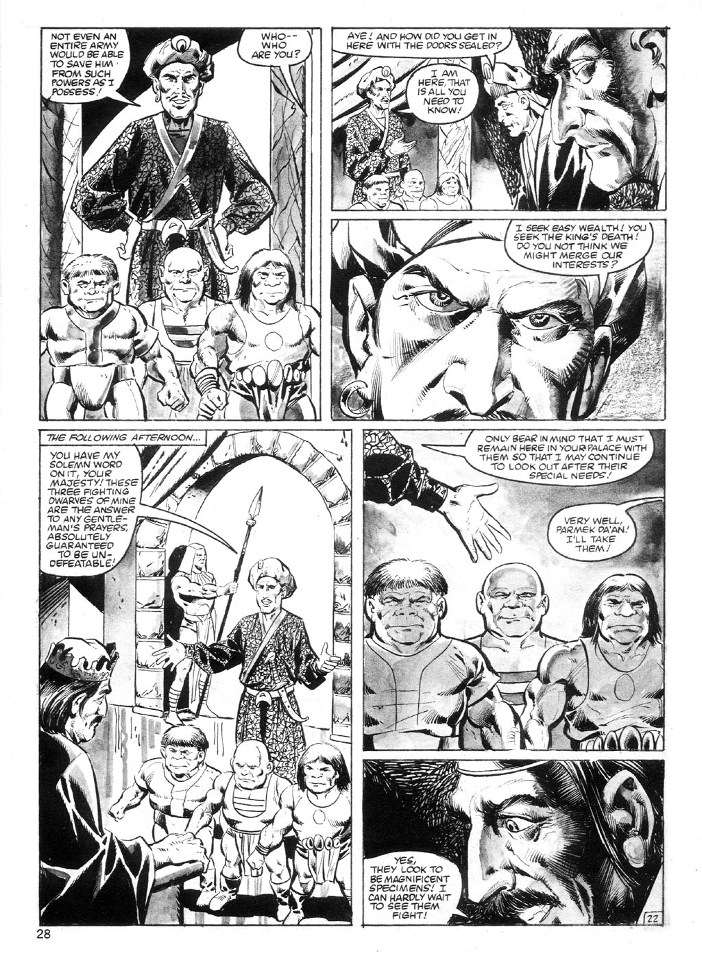 The Savage Sword Of Conan Issue #94 #95 - English 27