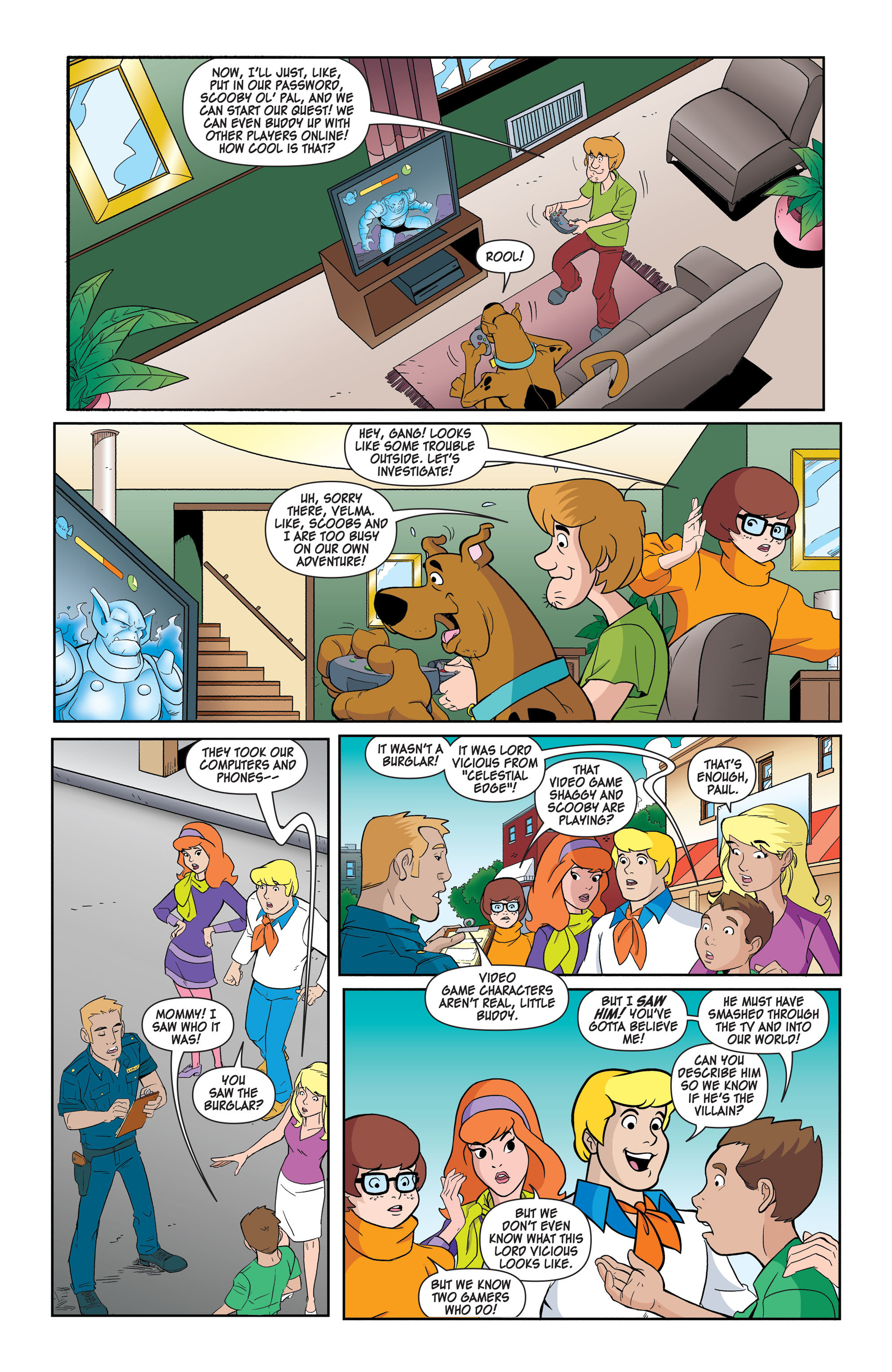 Read online Scooby-Doo: Where Are You? comic -  Issue #42 - 4
