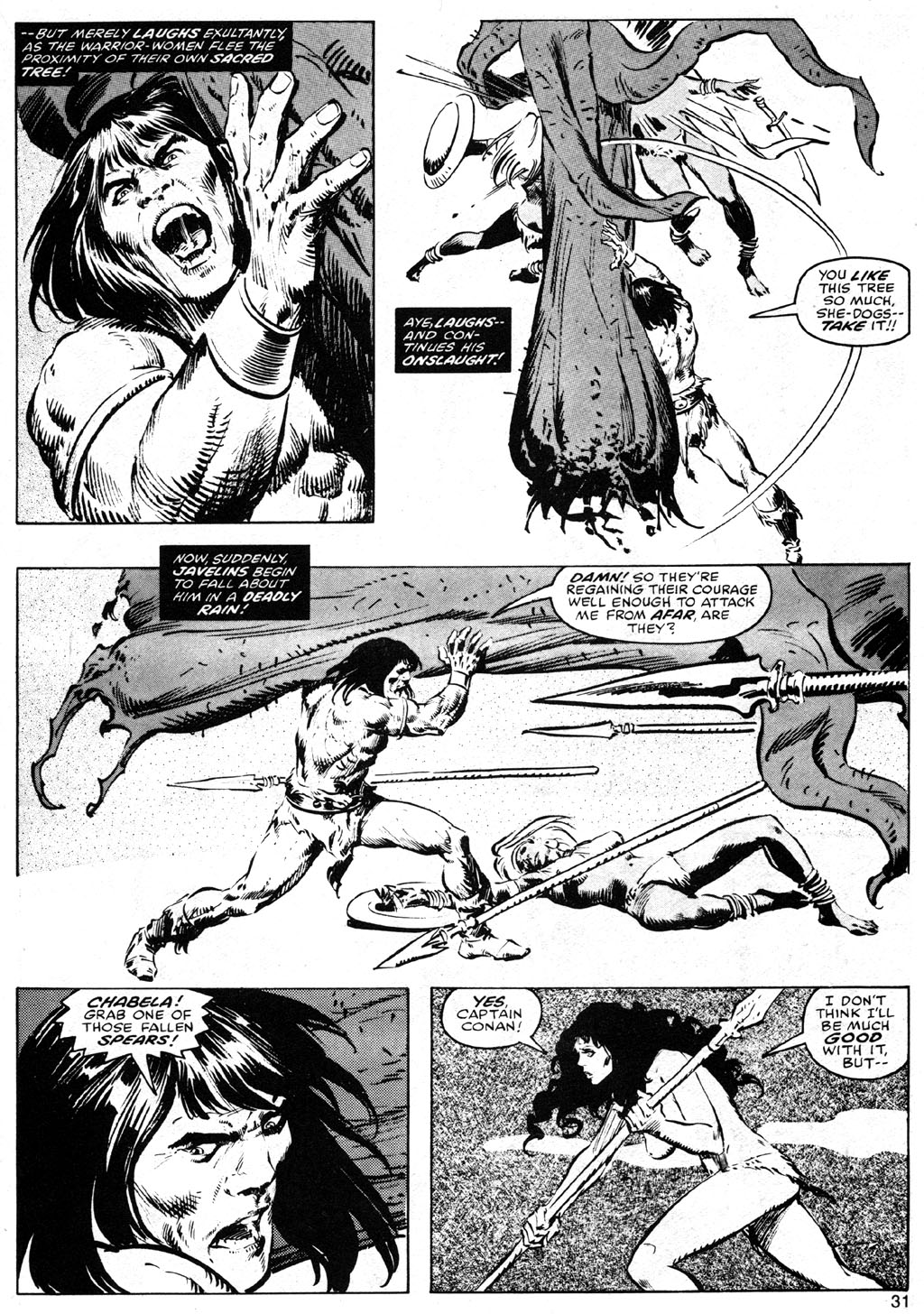 The Savage Sword Of Conan Issue #42 #43 - English 31