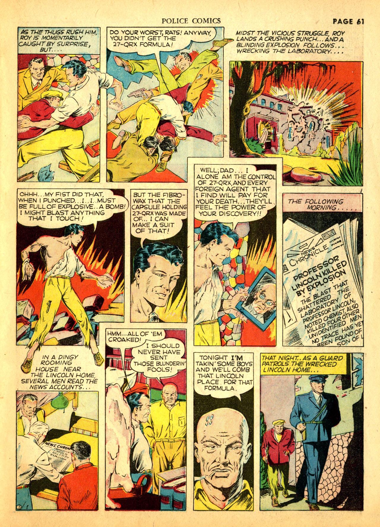 Police Comics #1 #127 - English 64