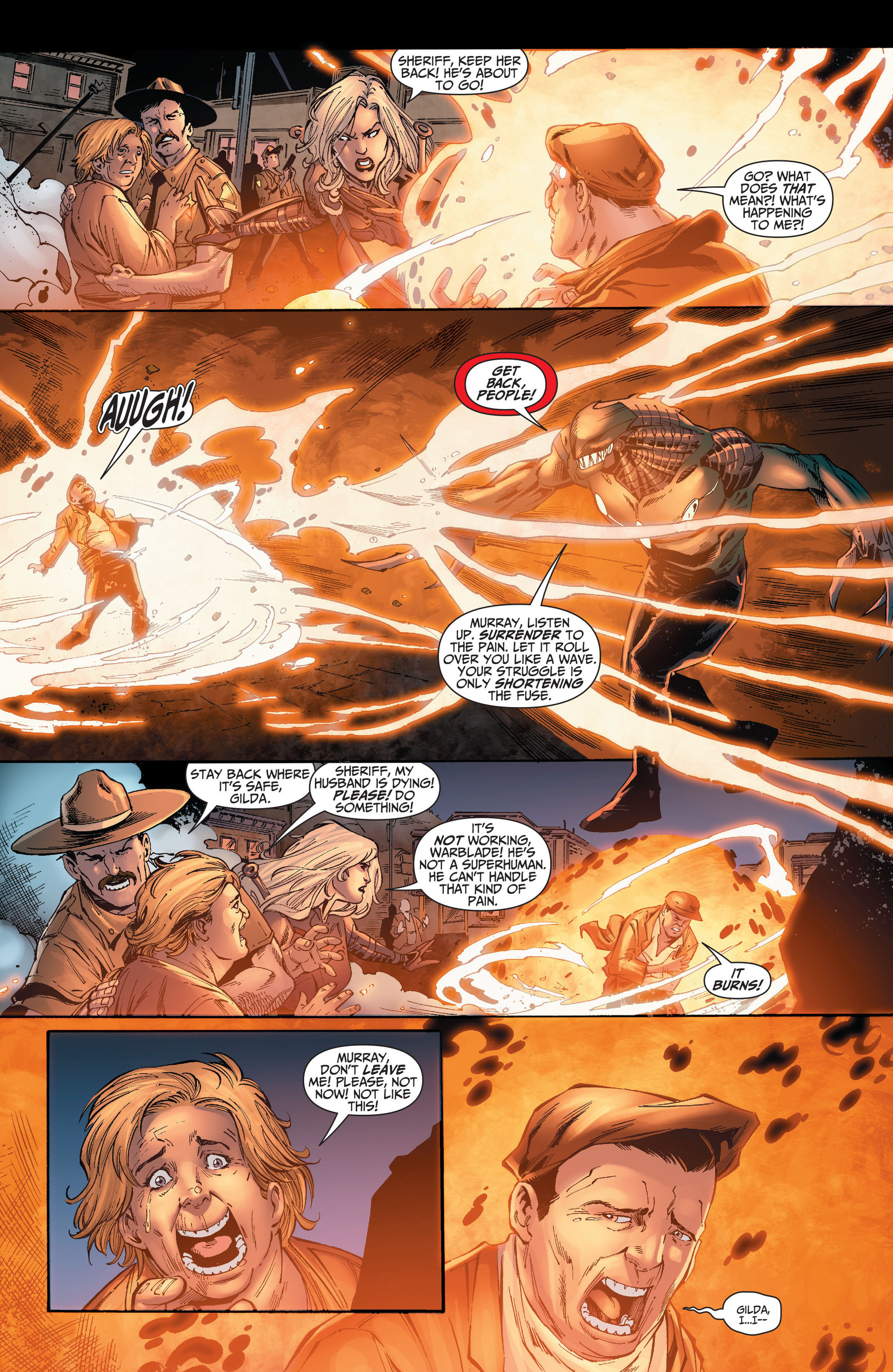 Read online The Ravagers comic -  Issue #8 - 12