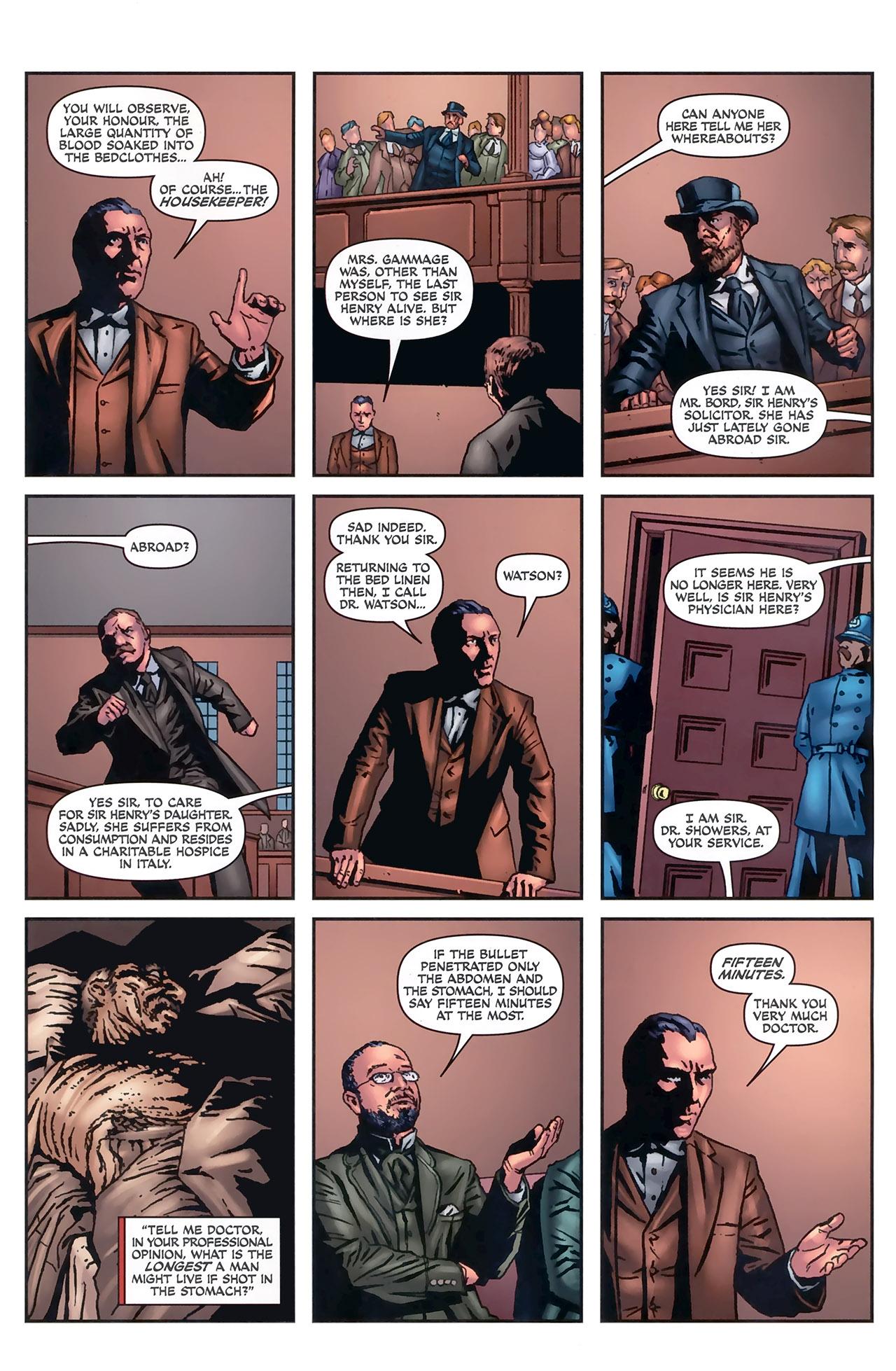 Read online Sherlock Holmes (2009) comic -  Issue #5 - 17