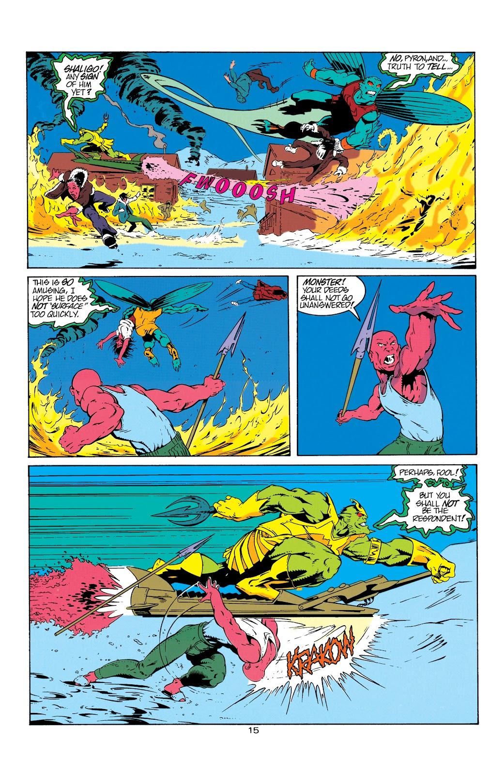 Aquaman (1994) Issue #6 #12 - English 16