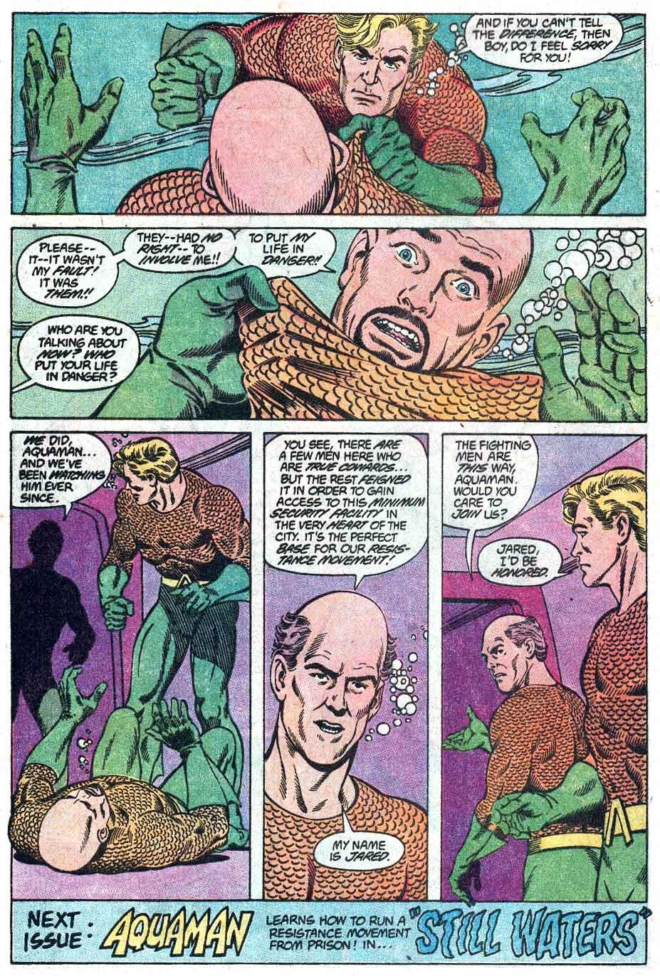 Aquaman (1989) Issue #1 #1 - English 23