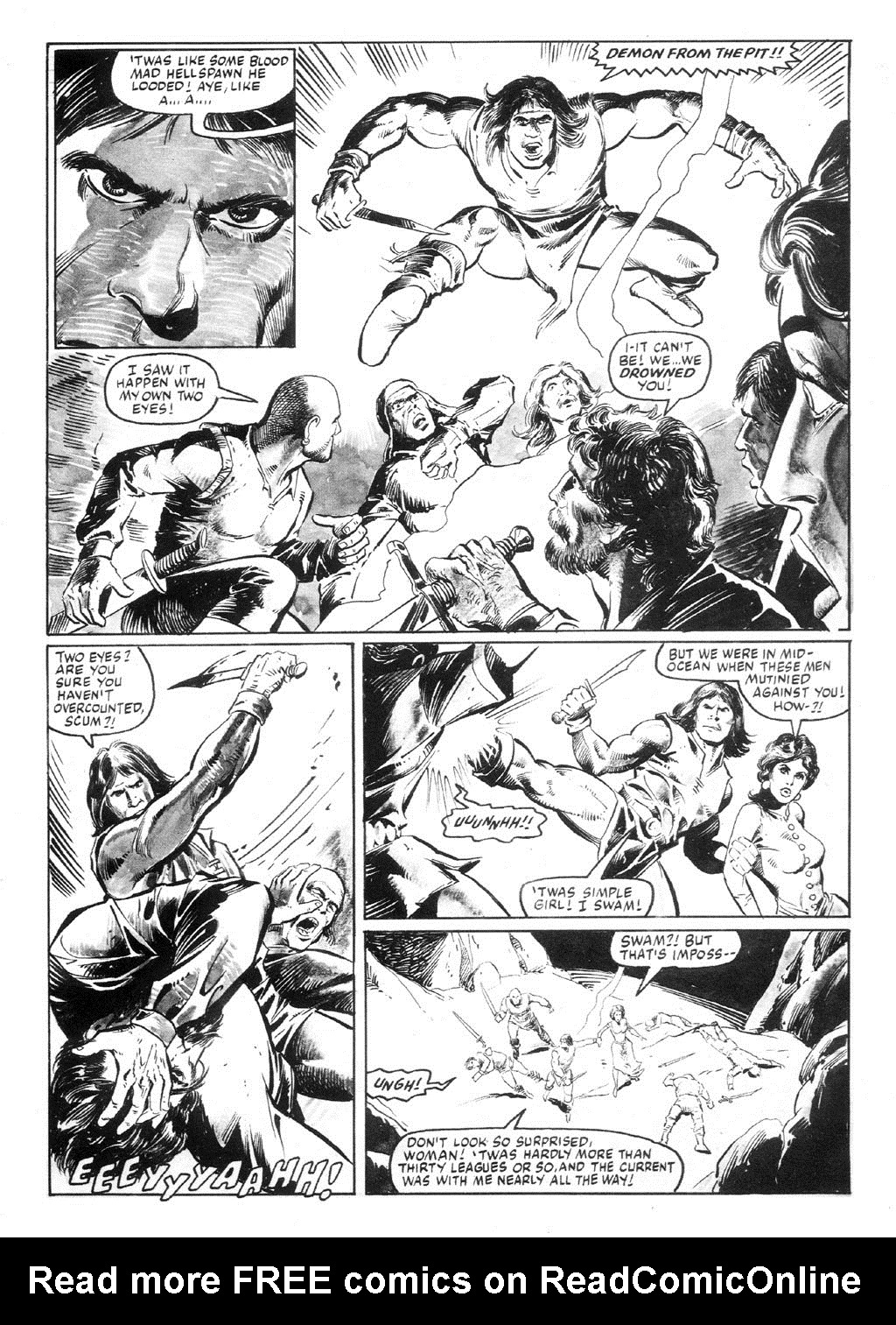 The Savage Sword Of Conan Issue #94 #95 - English 8