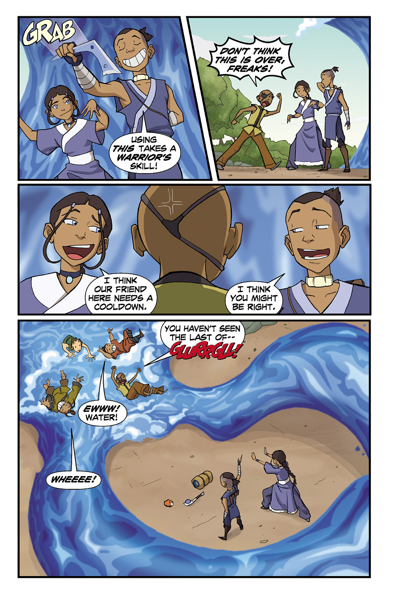 Nickelodeon Avatar: The Last Airbender - The Lost Adventures chap full pic 71