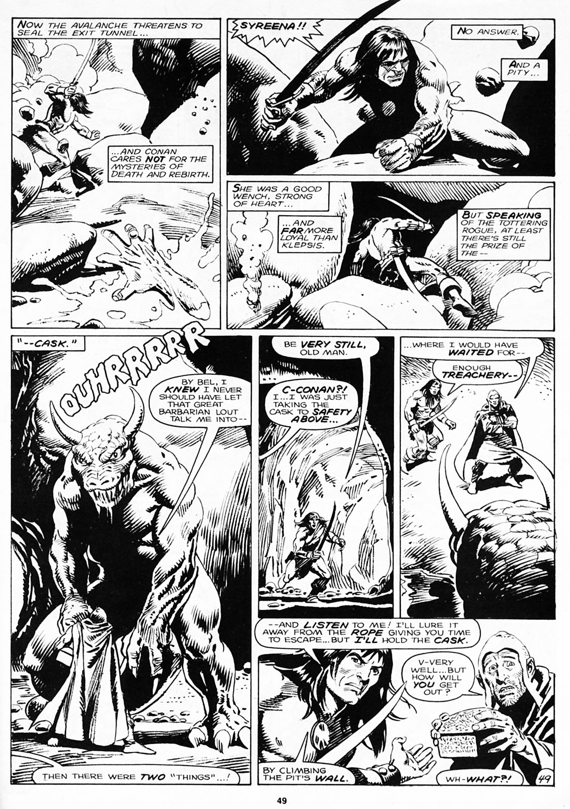 The Savage Sword Of Conan Issue #180 #181 - English 51