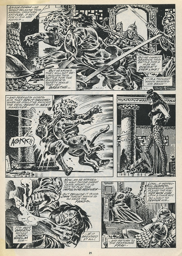 The Savage Sword Of Conan Issue #194 #195 - English 23