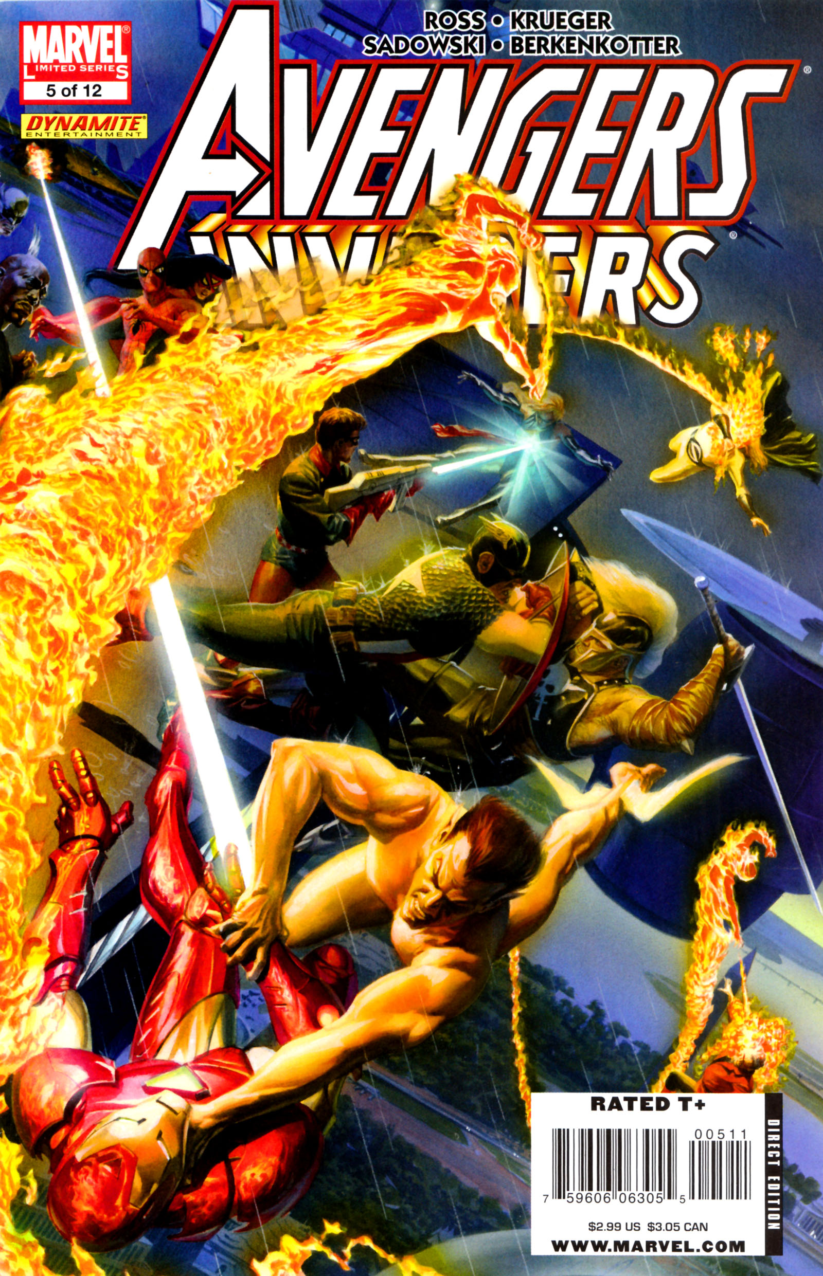 Avengers/Invaders 5 Page 1