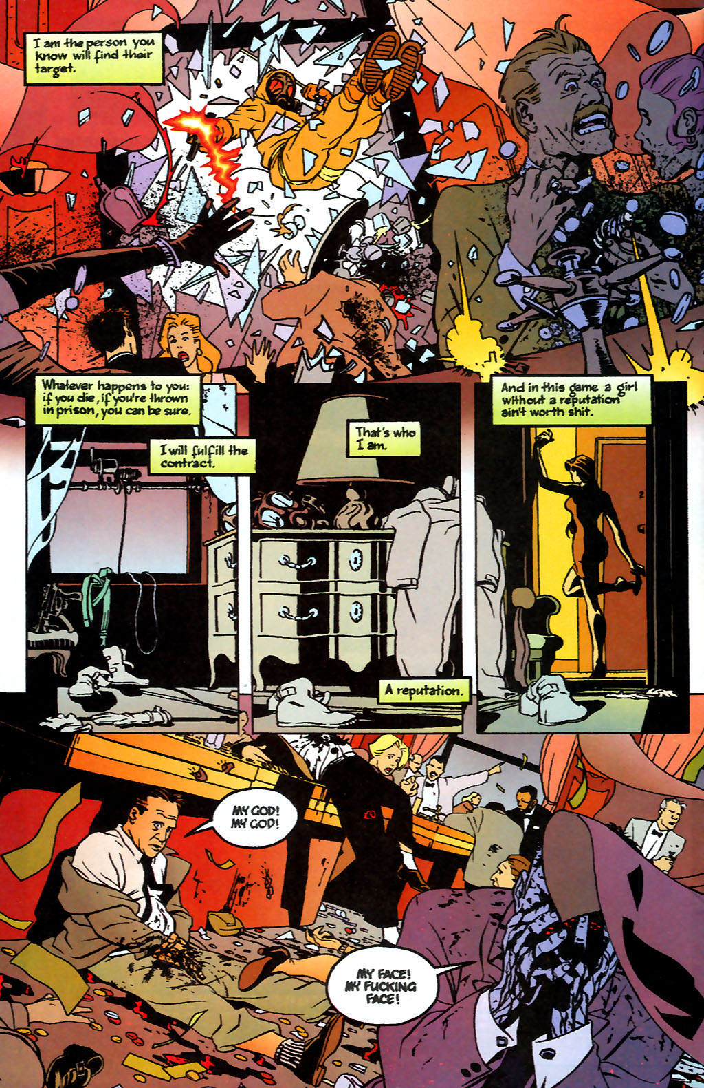Human Target (1999) 1 Page 2
