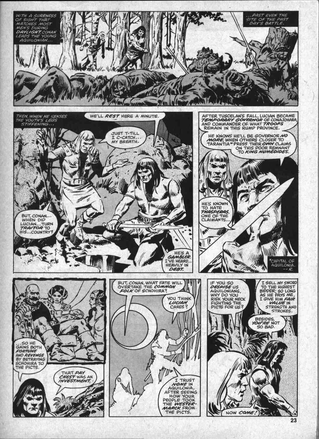 The Savage Sword Of Conan Issue #46 #47 - English 22