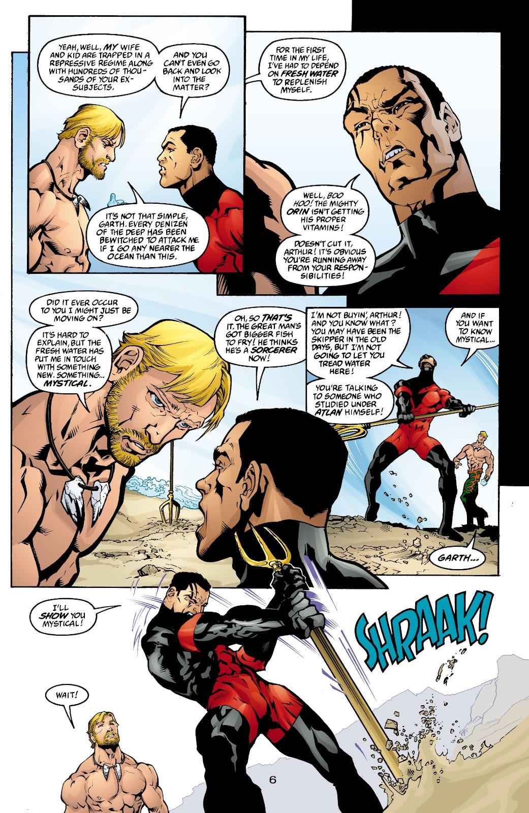 Aquaman (2003) Issue #4 #4 - English 7