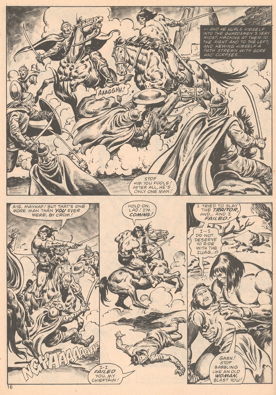 The Savage Sword Of Conan Issue #63 #64 - English 16