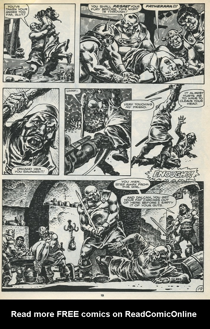 The Savage Sword Of Conan Issue #173 #174 - English 21