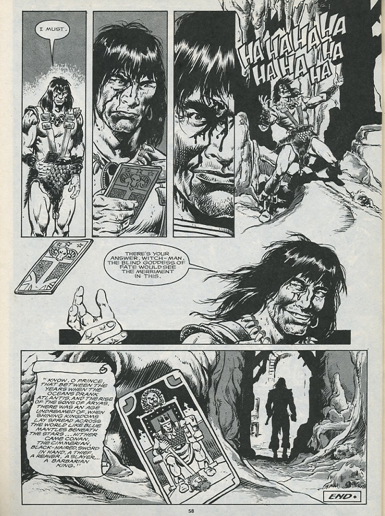 The Savage Sword Of Conan Issue #176 #177 - English 60