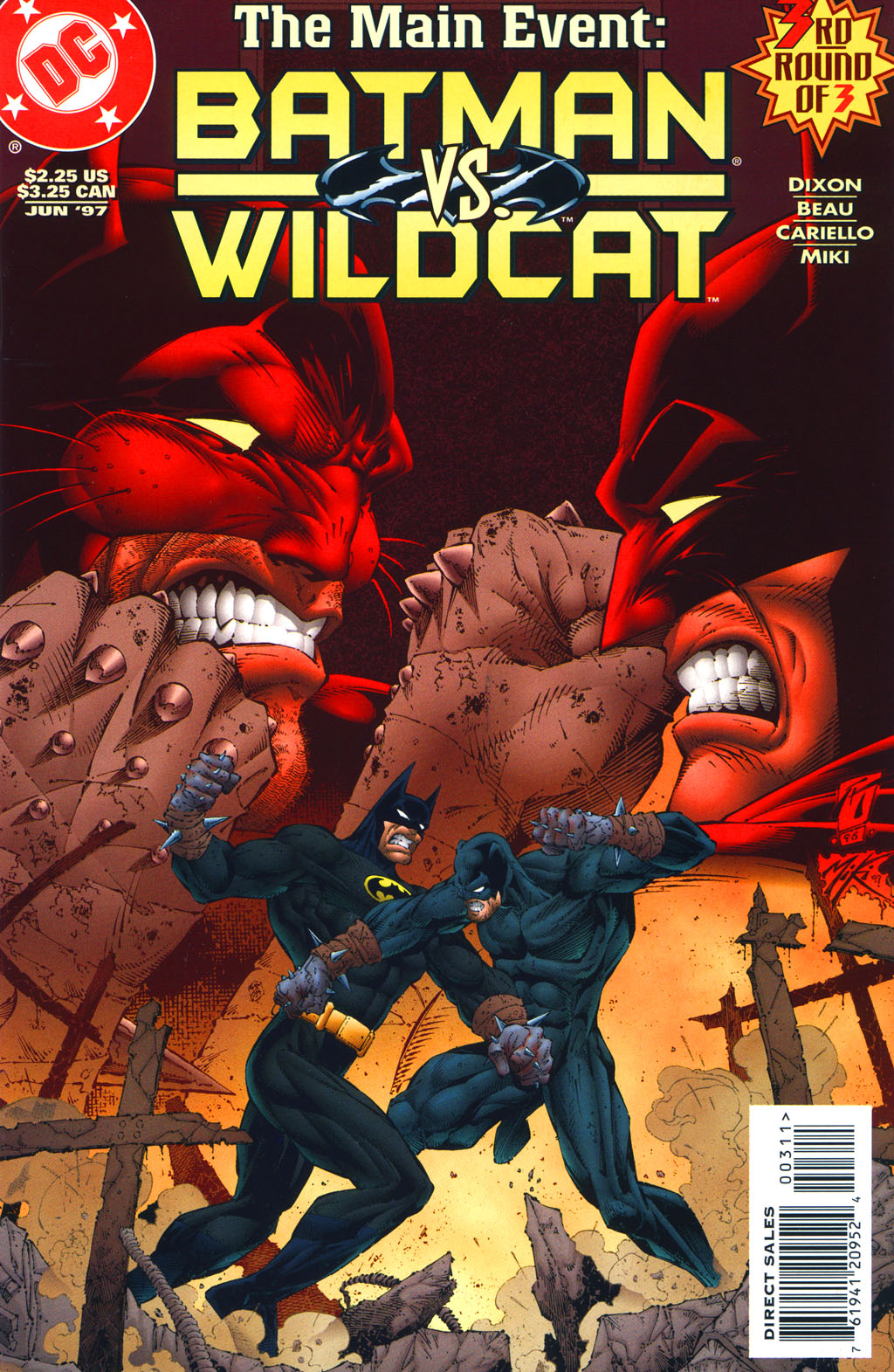 Batman/Wildcat (1997) 3 Page 1
