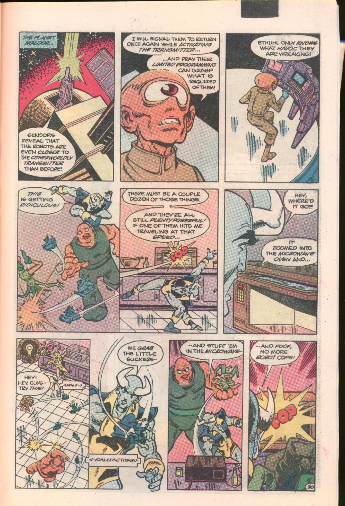 Blue Devil 6 Page 21