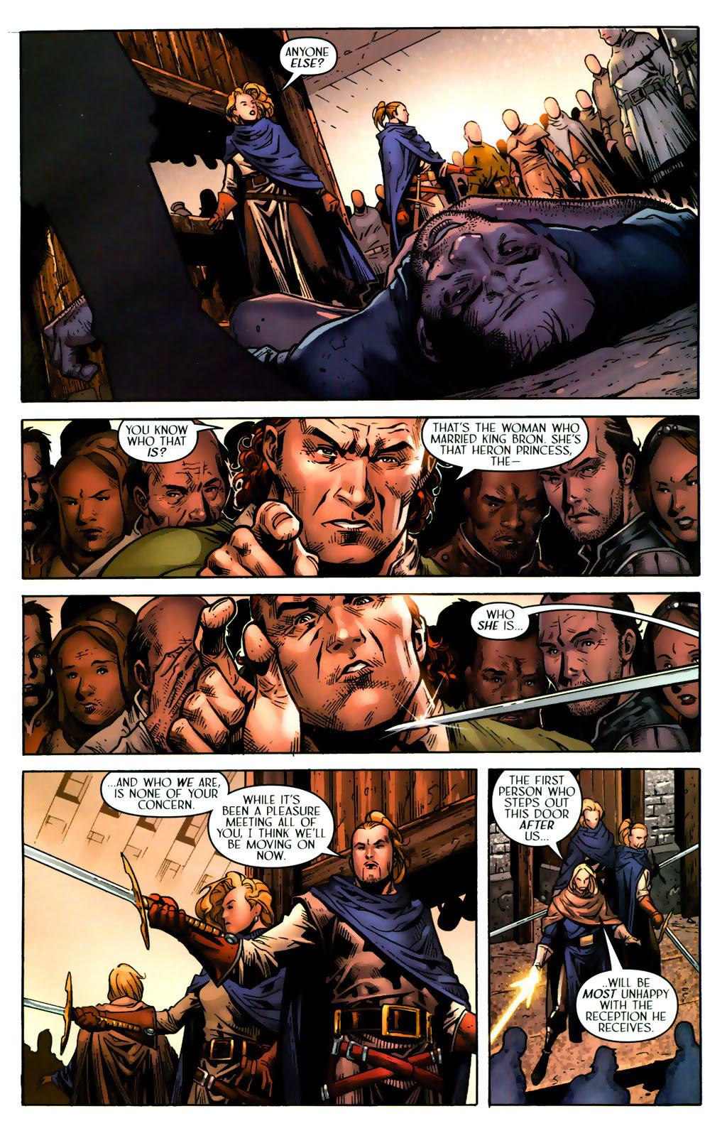 Read online Scion comic -  Issue #38 - 14