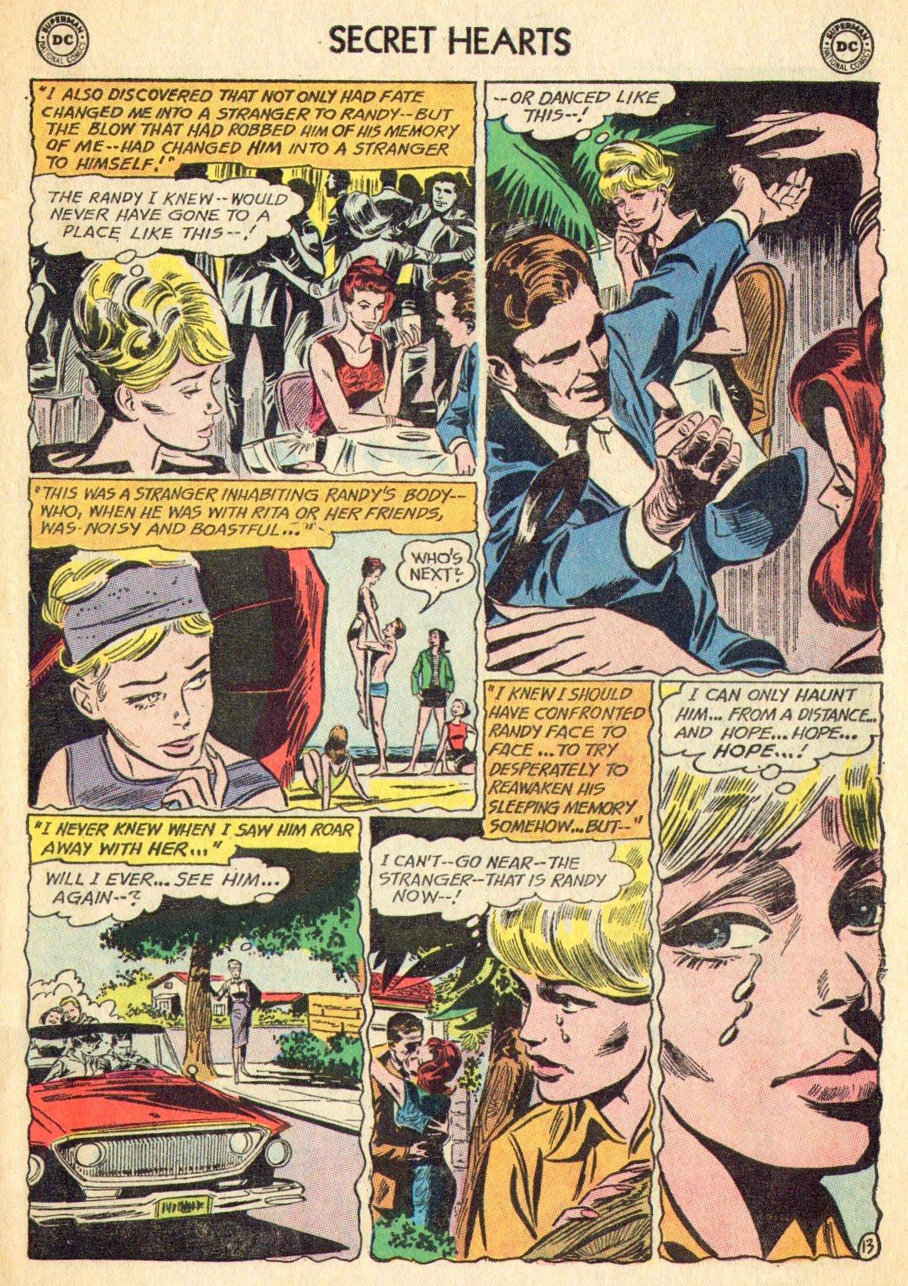 Read online Secret Hearts comic -  Issue #101 - 31