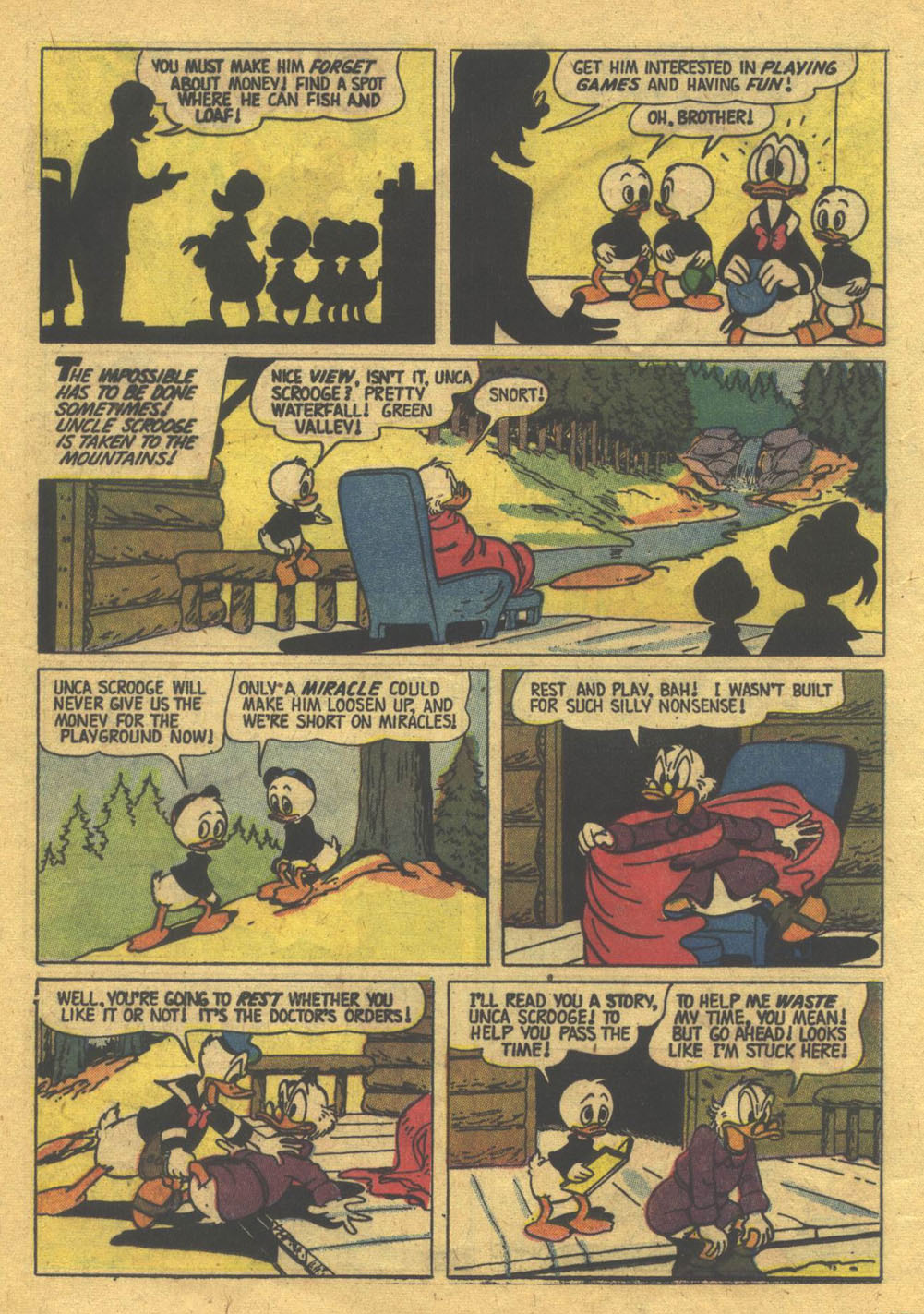 Uncle Scrooge (1953) Issue #22 #22 - English 12