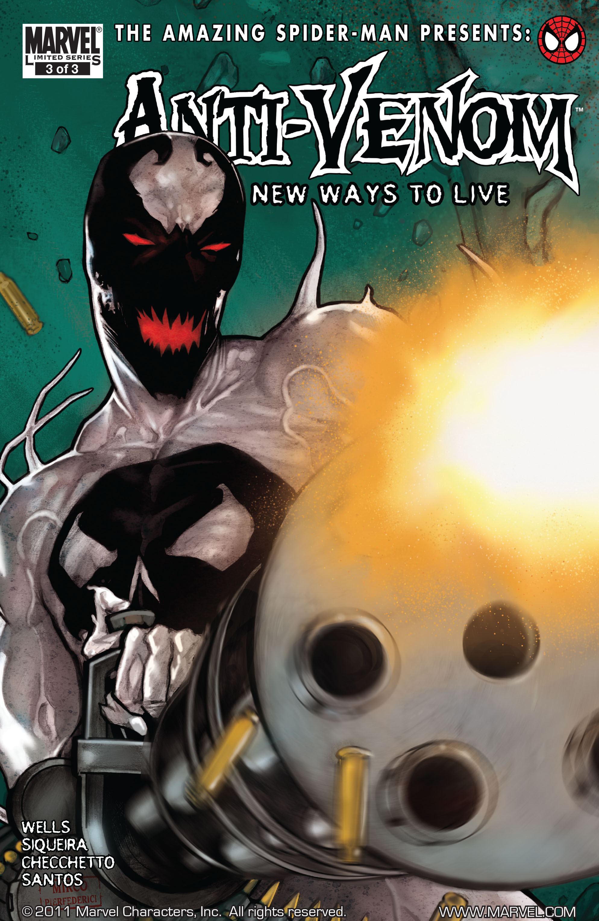 Amazing Spider-Man Presents: Anti-Venom - New Ways To Live 3 Page 1
