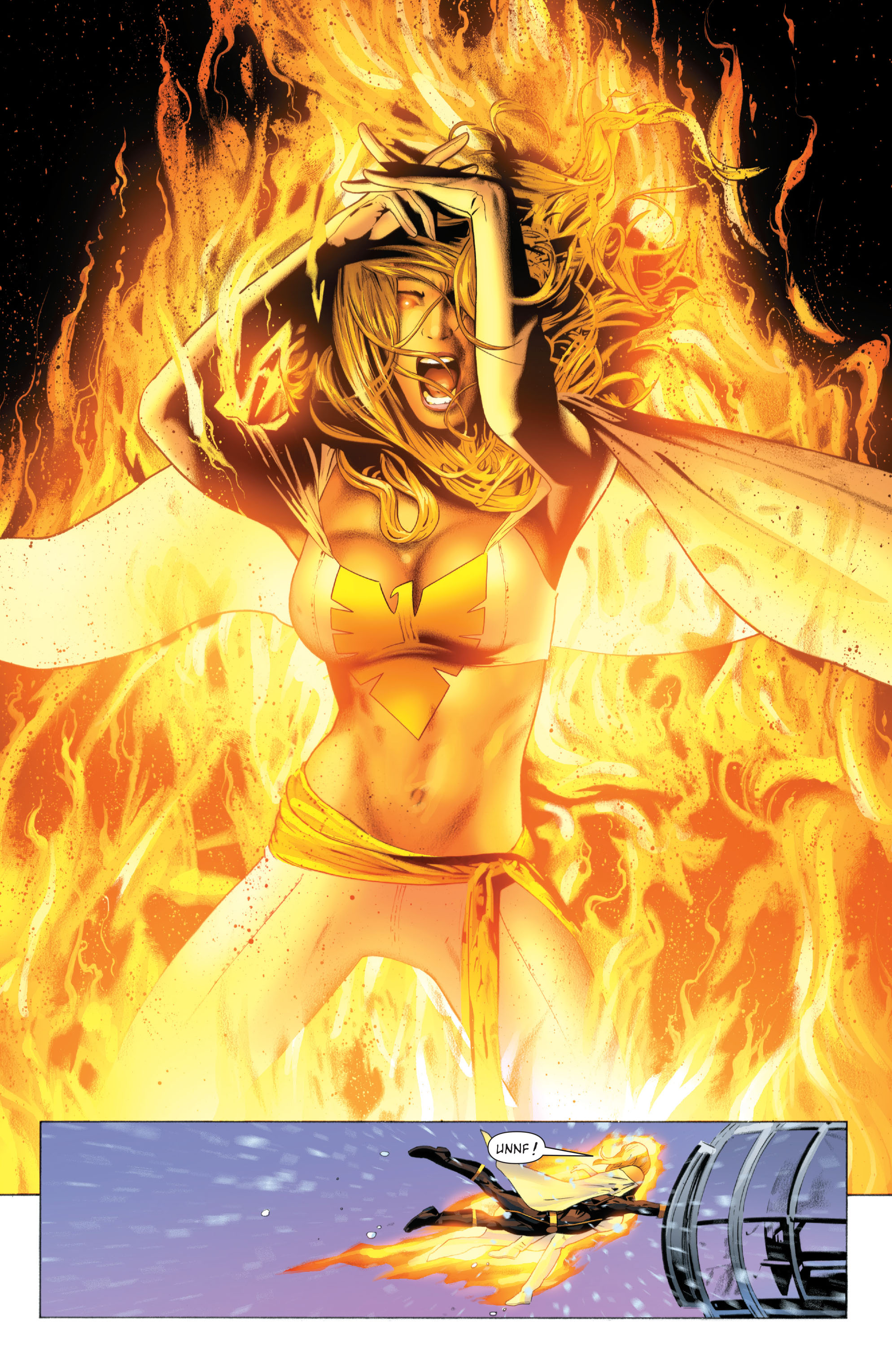 Read online X-Men: Phoenix - Endsong comic -  Issue #4 - 14