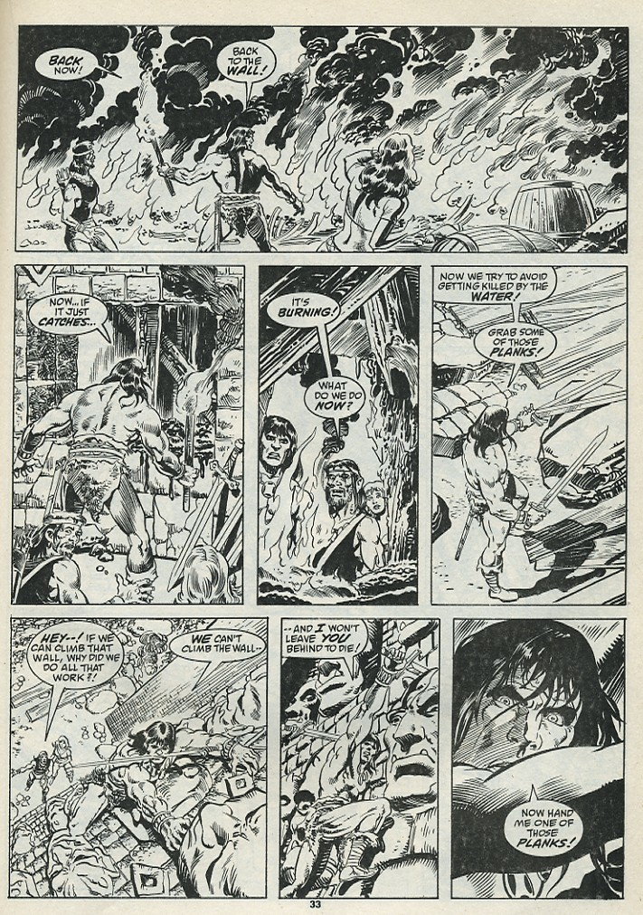 The Savage Sword Of Conan Issue #182 #183 - English 35