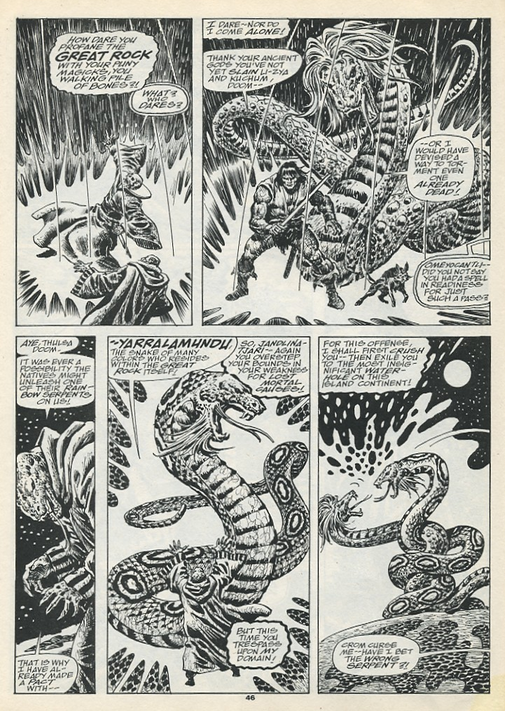 The Savage Sword Of Conan Issue #193 #194 - English 48